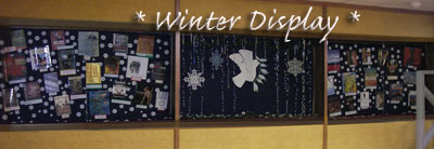 Forsyth Library Winter Display