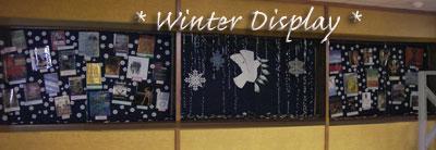 Forsyth Library Winter Display